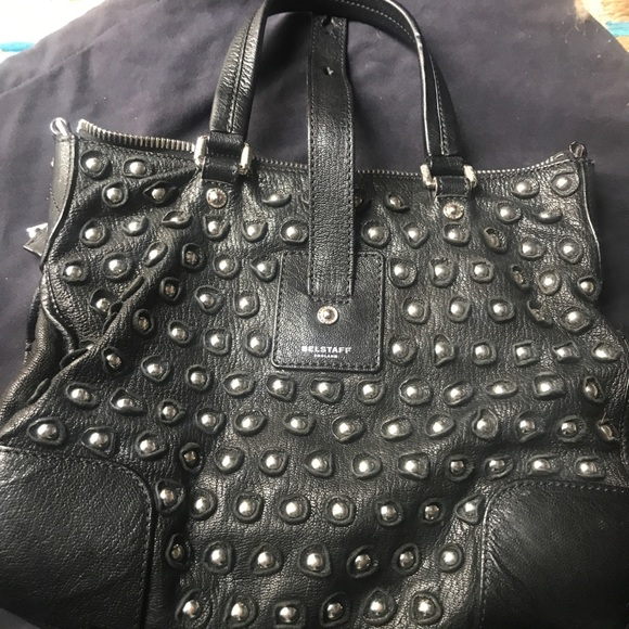 a14443060f Bags | Authentic Black Leather Belstaff Bag | Poshmark